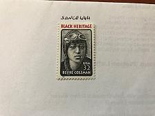 Buy USA United States Bessie Coleman mnh 1995