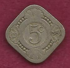 Buy NETHERLANDS 5 Cents 1938 Coin - Kingdom of the Netherlands