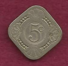 Buy NETHERLANDS 5 Cents 1923 Coin - Kingdom of the Netherlands