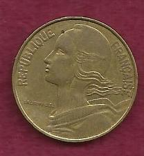 Buy France 20 Centimes 1976 Coin - Marianne, Aluminum-Bronze