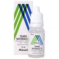 Buy Alcon Tears Naturale II Artificial Tears Eye Drops 15 ml (0.5 FL OZ) Eye Dryness
