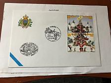 Buy San Marino Christmas FDC 1998