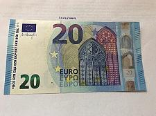 Buy Italy Draghi 20 euro crispy banknote 2015 #2