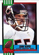 Buy John Roper #369 - Bears 1990 Topps Football Trading Card