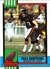 Buy Trace Armstrong #380 - Bears 1990 Topps Football Trading Card