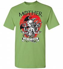 Buy Mother of Dragons Unisex T-Shirt Pop Culture Graphic Tee (L/Kiwi) Humor Funny Nerdy G