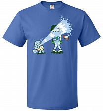 Buy Drenched Unisex T-Shirt Pop Culture Graphic Tee (XL/Royal) Humor Funny Nerdy Geeky Sh