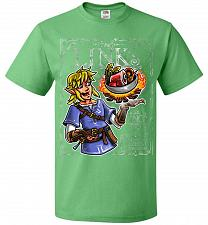 Buy Chef Link Cooking Lights Adult Unisex T-Shirt Pop Culture Graphic Tee (XL/Kelly) Humo