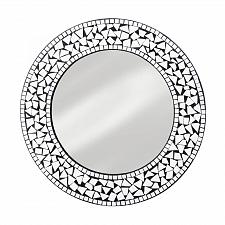 """Buy *18281U - Round Mosaic 17"""" Frame Wall Mirror"""