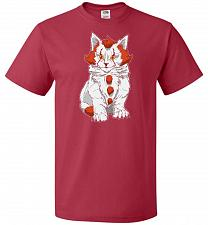 Buy kITten Unisex T-Shirt Pop Culture Graphic Tee (XL/True Red) Humor Funny Nerdy Geeky S