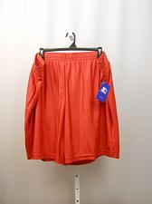 Buy Mens Big Tall DAZZLE Shorts SIZE 3XL 48-50 Solid Red Inseam 10 Flat Front Straig