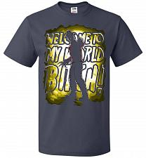 Buy Freddy Krueger Welcome To My World B! Adult Unisex T-Shirt Pop Culture Graphic Tee (5