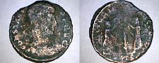 Buy 342-348AD Ancient Roman Imperial AE4 - Constans - 2 Victories w/ Wreaths &Palm