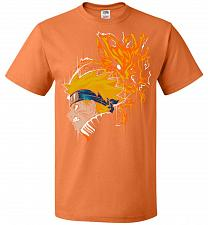 Buy Demon Fox Unisex T-Shirt Pop Culture Graphic Tee (M/Tennessee Orange) Humor Funny Ner