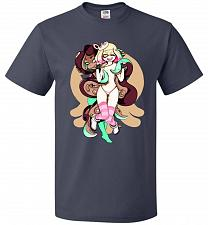 Buy Pearl And Marina Unisex T-Shirt Pop Culture Graphic Tee (6XL/J Navy) Humor Funny Nerd
