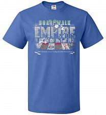 Buy Boardwalk Empire Unisex T-Shirt Pop Culture Graphic Tee (5XL/Royal) Humor Funny Nerdy
