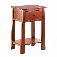 Buy *17615U - Contemporary Craftsman Wood Accent Side Table