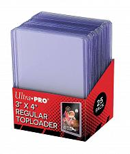 Buy Hard Plastic Baseball Trading Card Topload Holders Card Sleeves 25 Pack