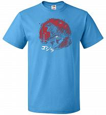 Buy Zillageddon Unisex T-Shirt Pop Culture Graphic Tee (4XL/Pacific Blue) Humor Funny Ner
