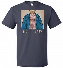 Buy EL 1983 Unisex T-Shirt Pop Culture Graphic Tee (2XL/J Navy) Humor Funny Nerdy Geeky S