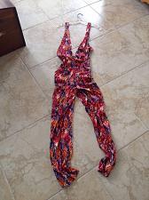 Buy multicolored jumpsuit size large by Designer Ali & kris