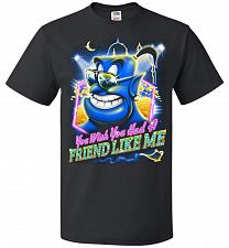 Buy Friend Like Me Adult Unisex T-Shirt Pop Culture Graphic Tee (5XL/Black) Humor Funny N