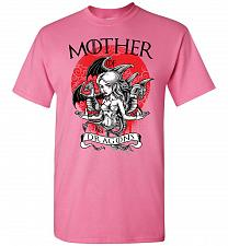 Buy Mother of Dragons Unisex T-Shirt Pop Culture Graphic Tee (L/Azalea) Humor Funny Nerdy