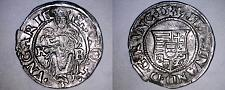 Buy 1539-KB Hungary 1 Denar World Silver Coin - Madonna with Child - Ferdinand I