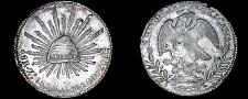 Buy 1838-Zs OM Mexican 8 Reales World Silver Coin - Mexico - Zacatecas Mint
