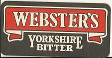 Buy Websters Yorkshire Bitter Coaster Beer Ale Large The Genuine 7 x 3.5 in