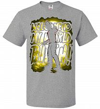 Buy Freddy Krueger Welcome To My World B! Adult Unisex T-Shirt Pop Culture Graphic Tee (L