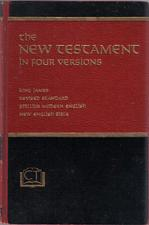 Buy the NEW TESTAMENT in Four Versions :: 1970 HB :: FREE Shipping