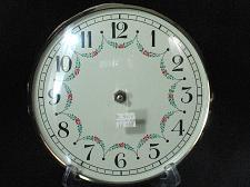 Buy Clock Face Mantle Grandfather Wall Repair West Germany Glass Bevel Vintage