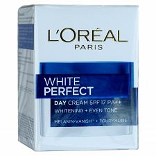 Buy L'Oreal White Perfect Day Cream Tourmaline Skin Whitening SPF 17 20ml