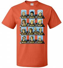 Buy Regen_O_Rama Unisex T-Shirt Pop Culture Graphic Tee (5XL/Burnt Orange) Humor Funny Ne