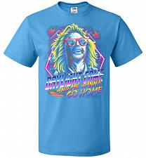 Buy Beetlejuice 80s Nostalgia Adult Unisex T-Shirt Pop Culture Graphic Tee (L/Pacific Blu