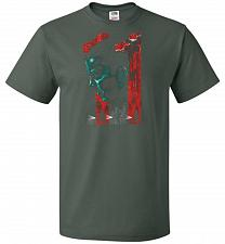 Buy Eleven Unisex T-Shirt Pop Culture Graphic Tee (M/Forest Green) Humor Funny Nerdy Geek