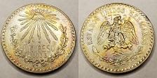 Buy 1933 Mexican 1 Peso World Silver Coin - Mexico - Lot#9702
