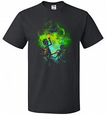 Buy Rick Morty Art Unisex T-Shirt Pop Culture Graphic Tee (4XL/Black) Humor Funny Nerdy G