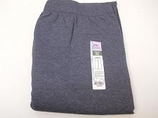 Buy Women Sweatpants Navy Heather PLUS SIZE 4X Elastic Waist Straight Leg Inseam 30