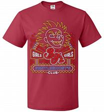 Buy Bjs Gentleghost's Club Adult Unisex T-Shirt Pop Culture Graphic Tee (3XL/True Red) Hu