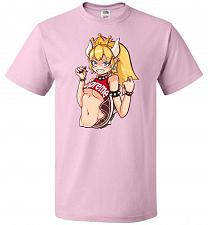 Buy Bowsette Unisex T-Shirt Pop Culture Graphic Tee (XL/Classic Pink) Humor Funny Nerdy G