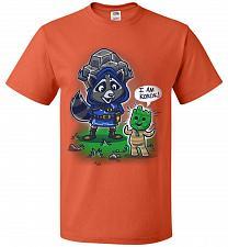 Buy I Am Korok Adult Unisex T-Shirt Pop Culture Graphic Tee (M/Burnt Orange) Humor Funny