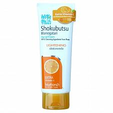 Buy Shokubutsu Monogatari Lightening Facial Foam 100 grams