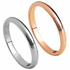 Buy coi Jewelry Titanium Couple Wedding Band Ring