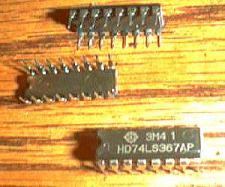 Buy Lot of 9: Hitachi HD74LS367AP