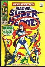 Buy MARVEL SUPER HEROES #8 MEDUSA Inhumans Gene Colan Capt. America Black Knight'68