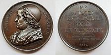 Buy 1817 French Philosopher Antoine Arnauld (1612-94) Bronze Medal by Depaulis F.