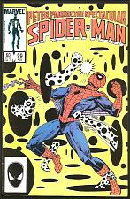 Buy Peter Parker The Spectacular Spider-man #99 Marvel Comics Milgraom 1985