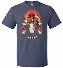 Buy Welcome to the Magical Bathhouse Unisex T-Shirt Pop Culture Graphic Tee (L/Denim) Hum